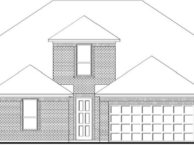 4 Bed, 3 Bath New Home Plan In Fort Worth, Tx