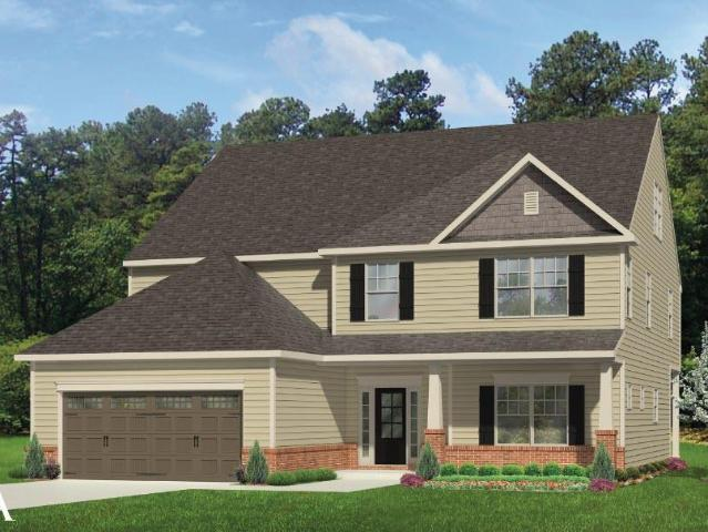 4 Bed, 3 Bath New Home Plan In Greensboro, Nc