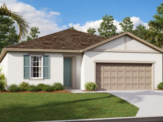4 Bed, 3 Bath New Home Plan In Haines City, Fl