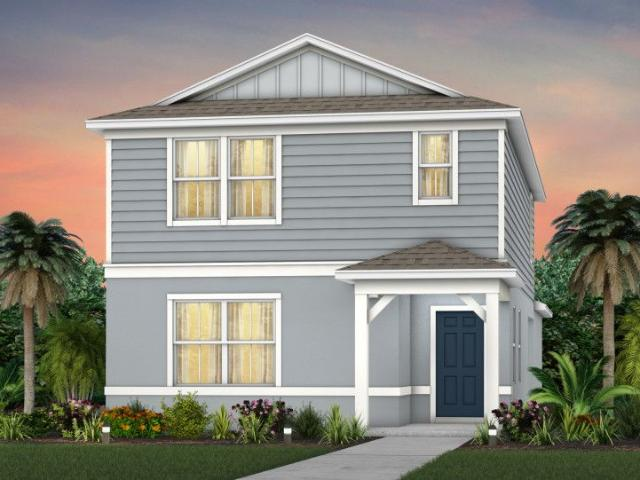 4 Bed, 3 Bath New Home Plan In Kissimmee, Fl