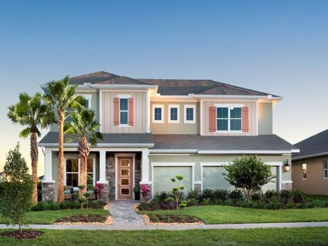 4 Bed, 3 Bath New Home Plan In Land O' Lakes, Fl