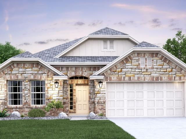 4 Bed, 3 Bath New Home Plan In Liberty Hill, Tx