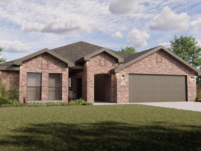 4 Bed, 3 Bath New Home Plan In Lubbock, Tx