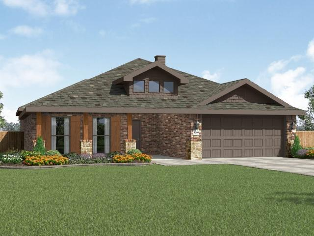 4 Bed, 3 Bath New Home Plan In Midland, Tx