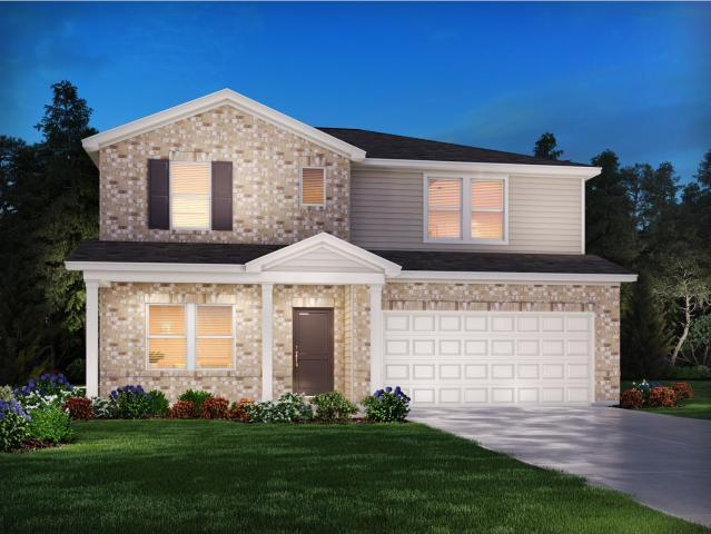 4 Bed, 3 Bath New Home Plan In Murfreesboro, Tn