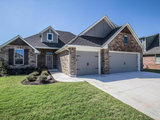 4 Bed, 3 Bath New Home Plan In Mustang, Ok