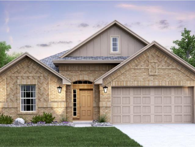 4 Bed, 3 Bath New Home Plan In New Braunfels, Tx