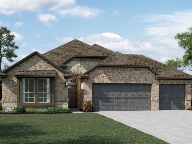 4 Bed, 3 Bath New Home Plan In Northlake, Tx