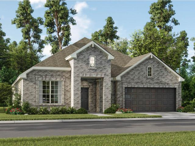 4 Bed, 3 Bath New Home Plan In Pearland, Tx