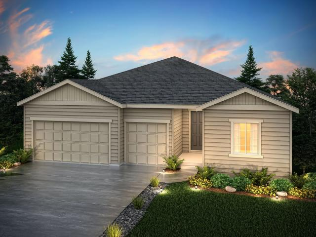 4 Bed, 3 Bath New Home Plan In Thornton, Co