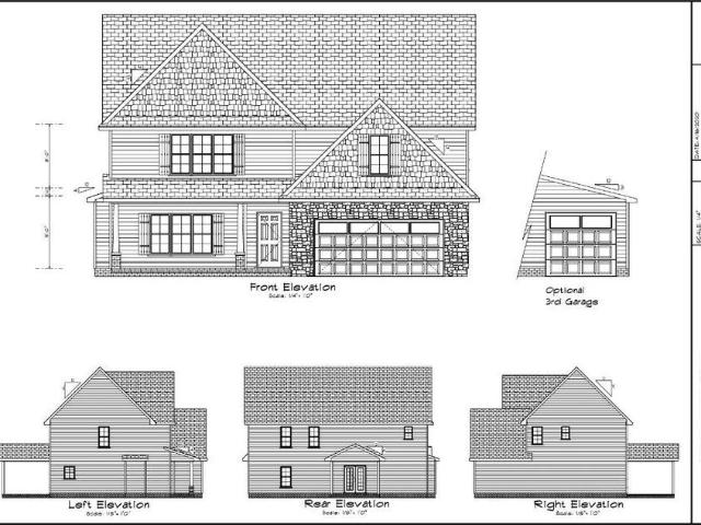 4 Bed, 3 Bath New Home Plan In West End, Nc