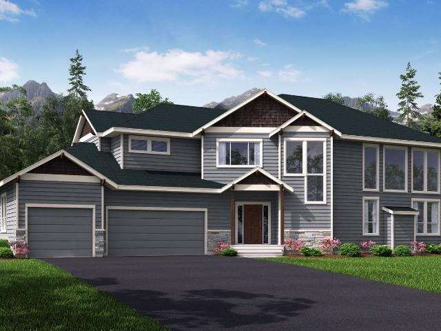 4 Bed, 4 Bath New Home Plan In Eagle River, Ak