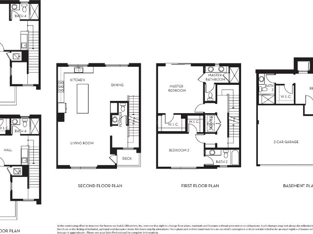 4 Bed, 4 Bath New Home Plan In Los Angeles, Ca