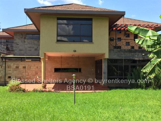 4 Bed House For Rent In Runda