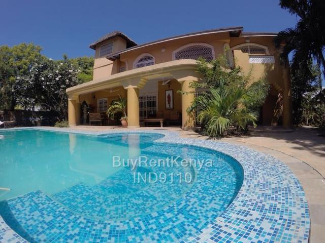 4 Bed House For Sale In Diani