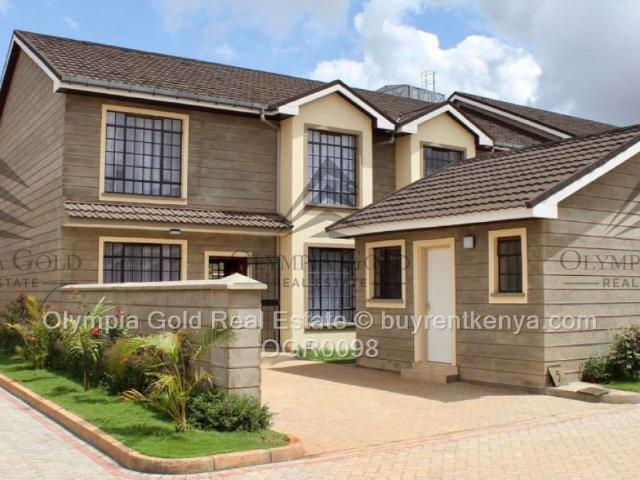 4 Bed Townhouse For Sale In Ruiru