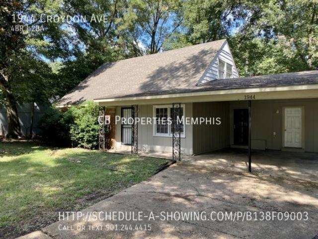 4 Bedroom Detached House Memphis Tn For Rent At 1175