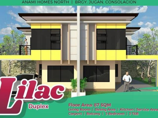 4 Bedroom Duplex House For Sale In Consolacion