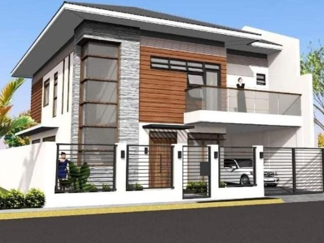 4 Bedroom House In A High End Subdivision At Corona Del Mar Located In Pooc, Talisay City,...