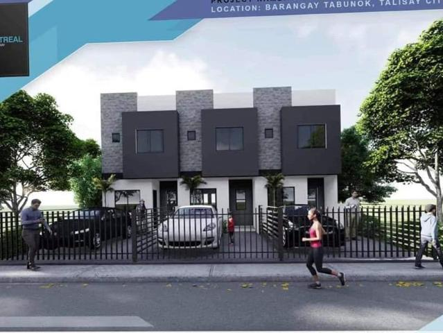 4 Bedroom Townhouse For Sale In The Montreal Talisay City