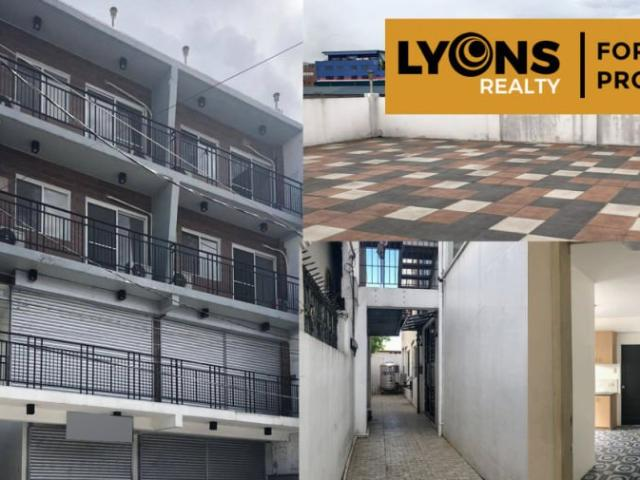 4 Storey Mixed Used Commercial And Residential Building