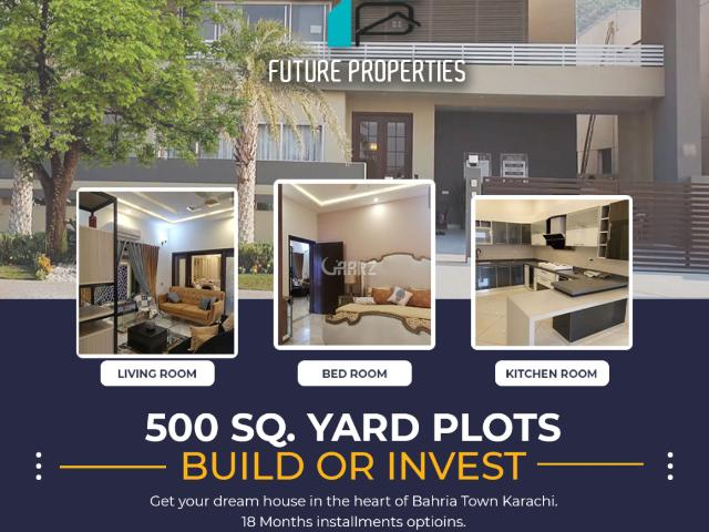 500 Square Yard House For Sale In Karachi Bahria Paradise