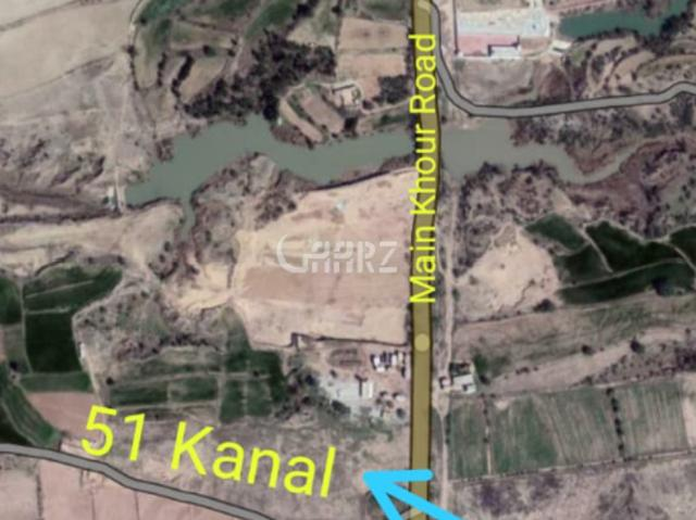 51 Kanal Commercial Property For Sale In Fateh Jang Khour Road Near Cpec Road