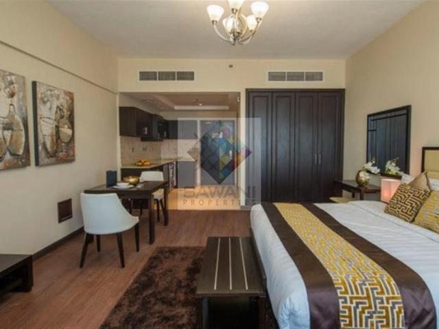 5 995k Monthly/fancy Apt W/fully Furnished Studio For Rent In Platinum 1 Al Barsha South 3...