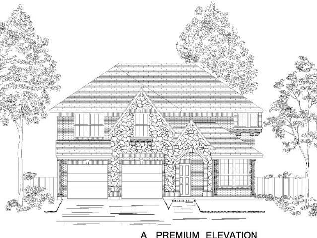 5 Bed, 3 Bath New Home Plan In Forney, Tx