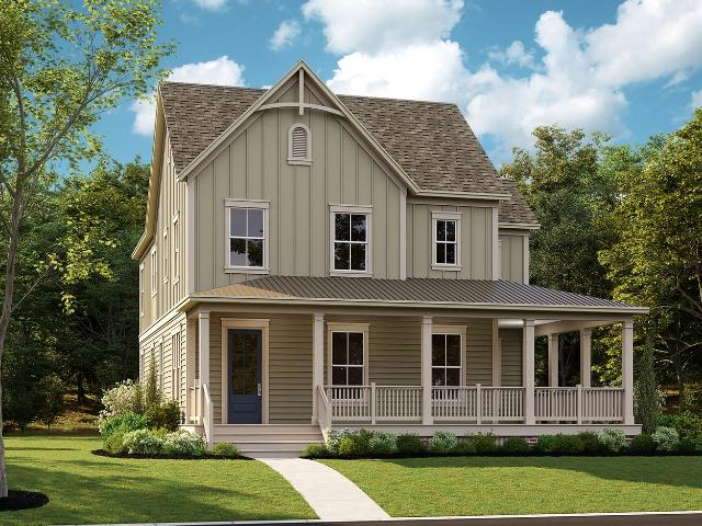 5 Bed, 4 Bath New Home Plan In Frederick, Md