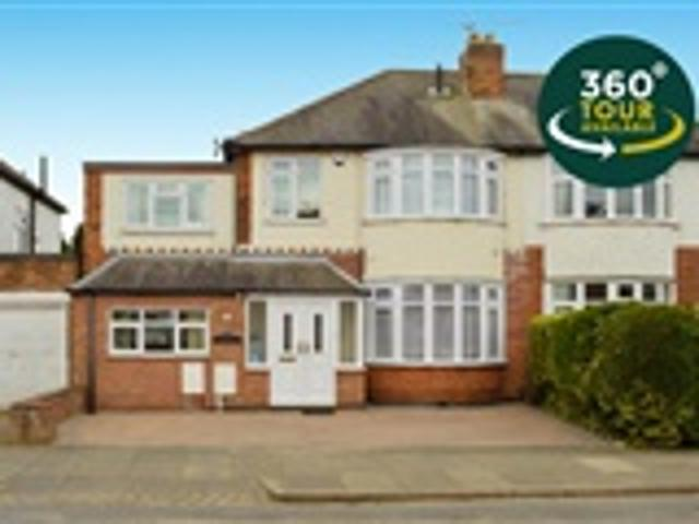 5 Bed Semi Detached For Sale Eastcourt Road Leicester