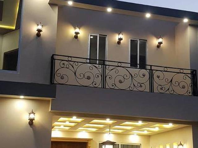 5 Marla Double Storey Brand New Beautiful House For Sale In Buch Execu