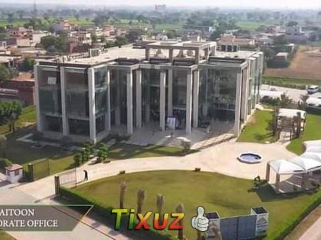 5 Marla Plot 4 Years Installment Plan For Sale In New Lahore City