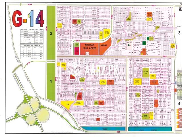 5 Marla Plot For Sale In Islamabad G 14/4