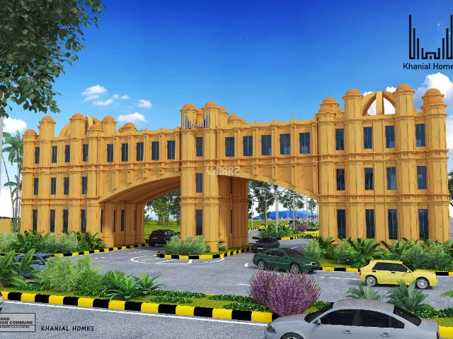 5 Marla Plot For Sale In Rawalpindi Khanial Homes