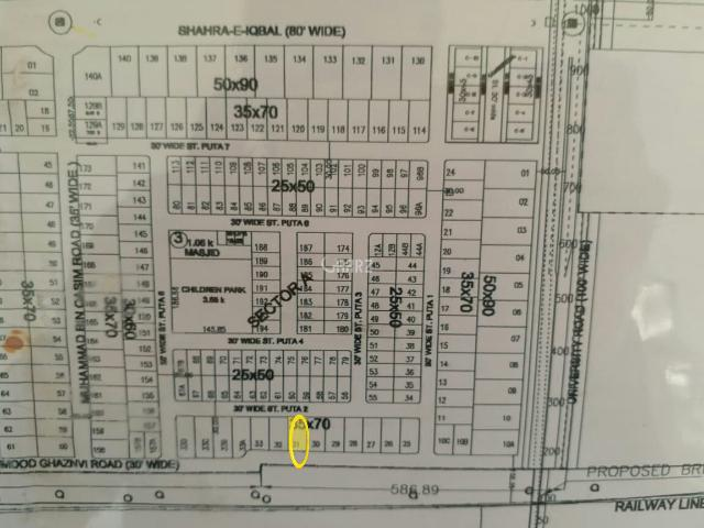 5 Marla Residential Land For Sale In Nowshera Muslim Educational City