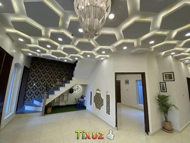 5 Marla Spanish Design Brand New House For Sale In Canal Garden