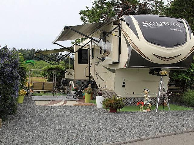 5th Wheel For Sale On Beautiful Oceanside Rv Resort In Sidney Bc