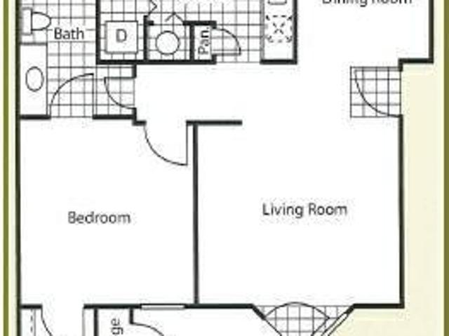 $650 / 1br 682ft² Ground Floor One Bed One Bath!