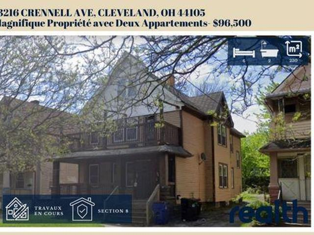 6 Bedroom Detached House Cleveland Ohio For Sale At 79629