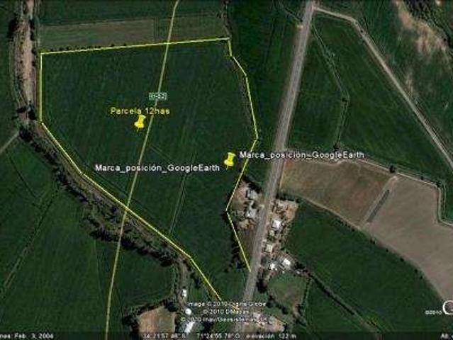 6ta Region,parcela De 12has En El Toco Pichidegua