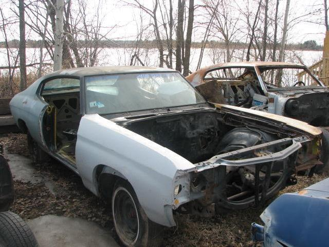 71 Chevrolet Chevelle Project Car