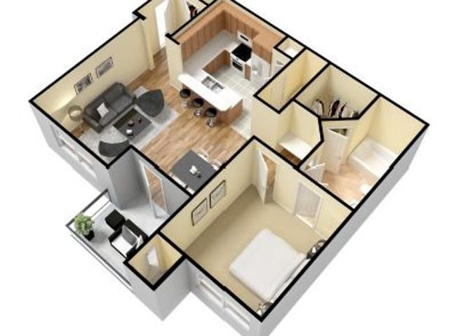 $749 One Bedroom In Temple Temple