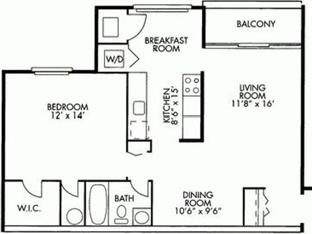 $799 / 1br 750ft² Free April Rent! Move In March, 1br 1ba Only $799! One Left! Brookside A...