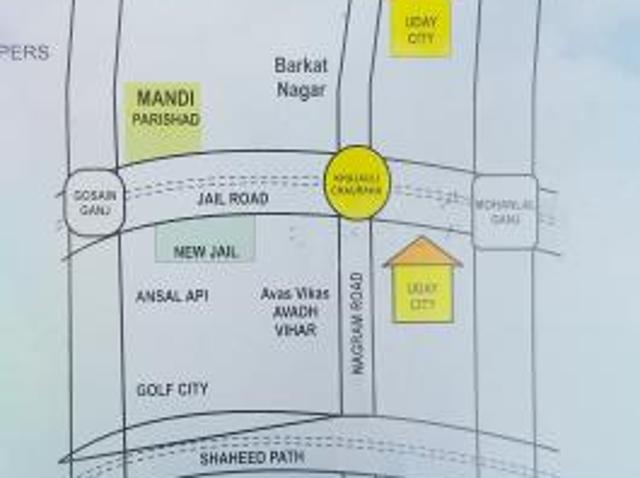 800 Sq. Ft Plot For Sale In Nilmatha, Lucknow