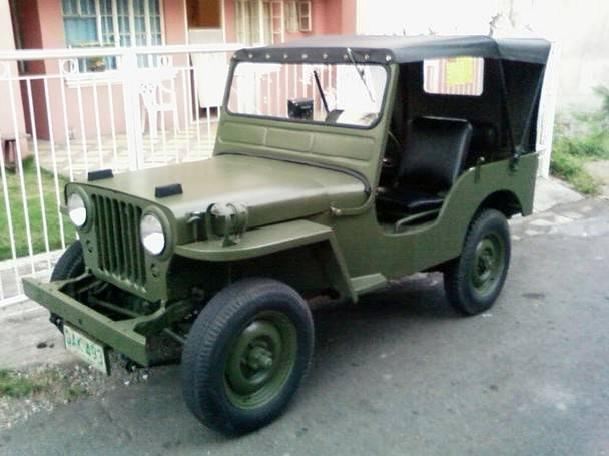 80k M38 Willys Jeep, Army Jeep, Jeepey, Jeepy Sold