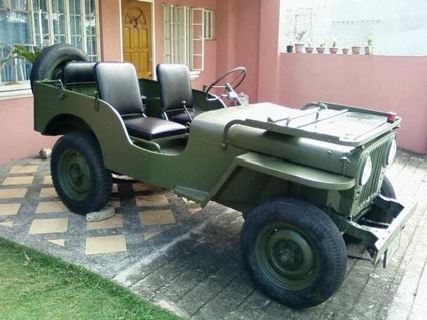 80k Willys Jeep, Jeepey, Jeepy, Army Sold