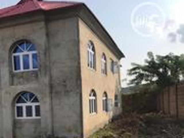 85% Completed 5 Bedroom Duplex Located At Abese Elebu