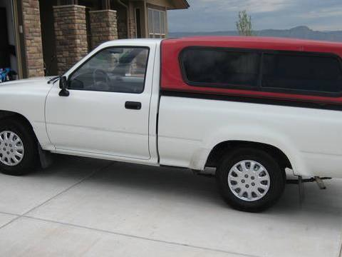 '94 Toyota Pickup W/topper $1995