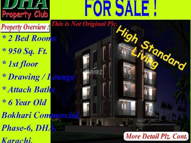 950 Square Feet Apartment For Sale In Lahore Dha Phase 6